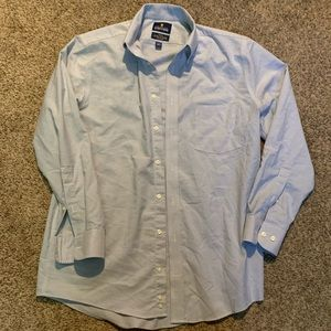 STAFFORD fitted wrinkle free dress shirt